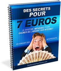 Des secrets pour 7euros